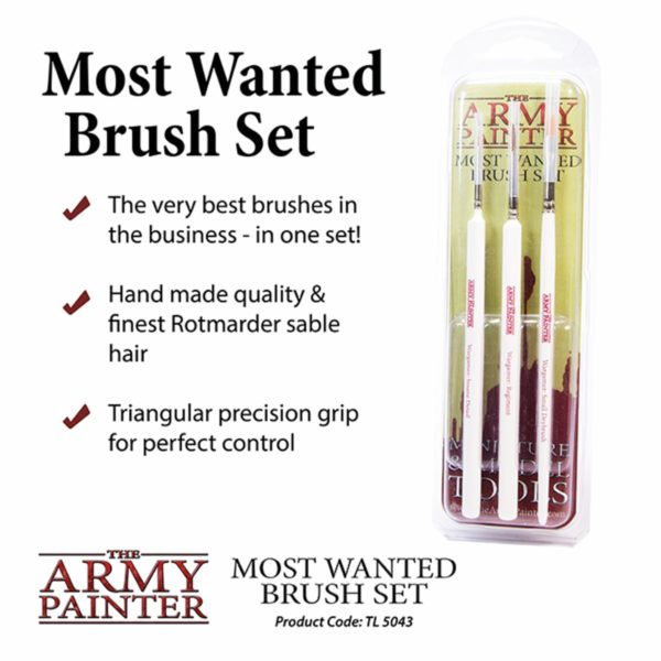 Army Painter Most Wanted Brush Set - online kaufen - bigpandav.de