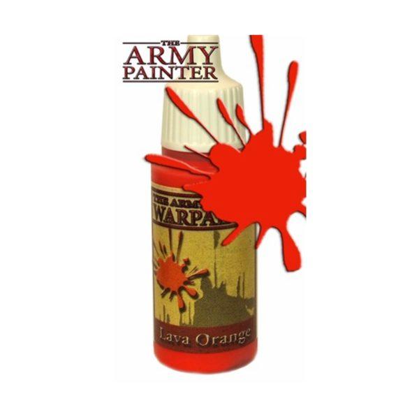 Army Painter Warpaint Lava Orange - bigpandav.de