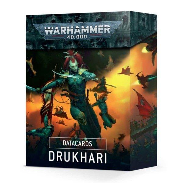 Warhammer Datakarten: Drukhari - bigpandav.de