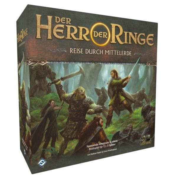 Reise durch Mittelerde Grundspiel -Enthält 31 hochdetaillierte Miniaturen - bigpandav.de