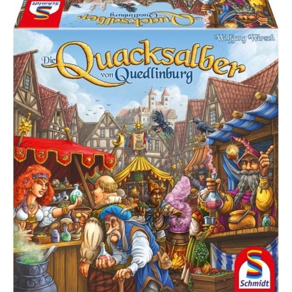 Die Quacksalber von Quedlinburg *Kennerspiel des Jahres 2018* - online kaufen - bigpandav.de