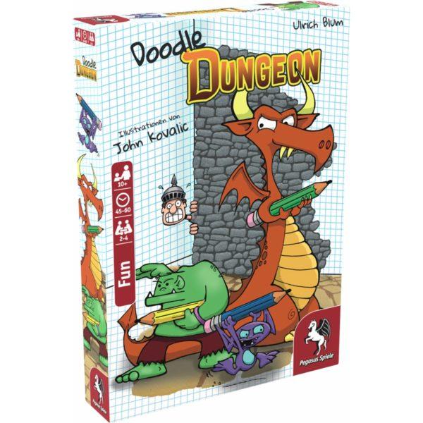 Doodle Dungeon (deutsche Ausgabe) - bigpandav.de