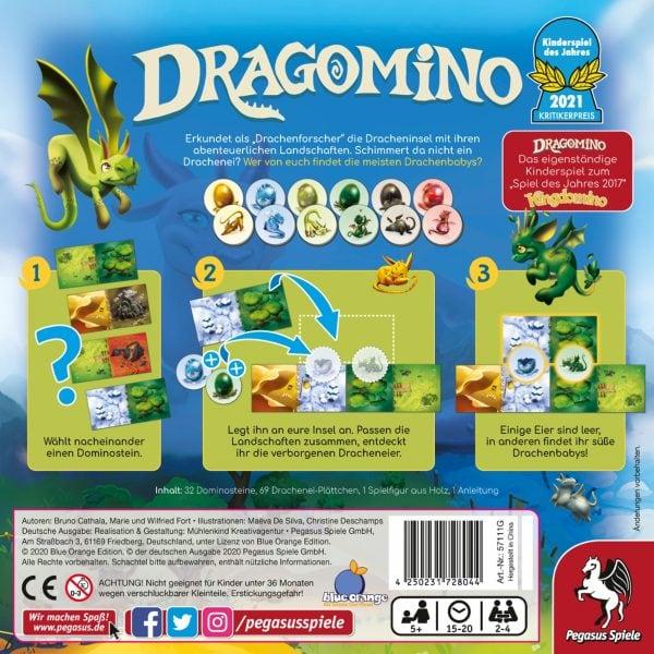 Dragomino *Kinderspiel des Jahres 2021* im Onlineshop einkaufen bei bigpandav.de