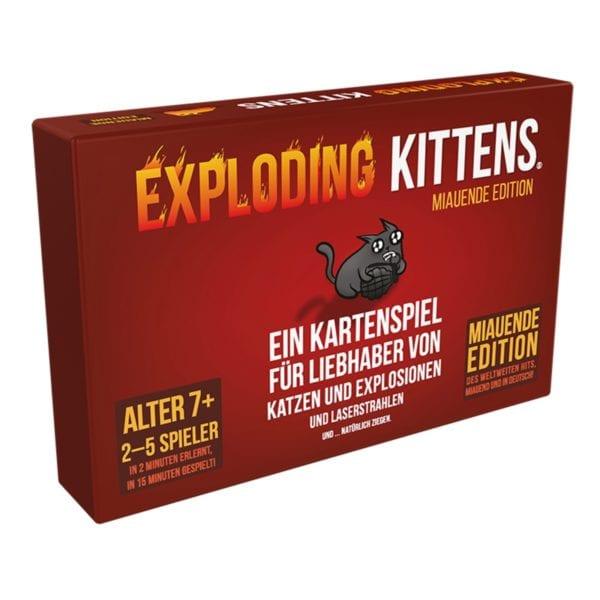 Exploding Kittens Miauende Edition - direkt online bestellen - bigpandav.de