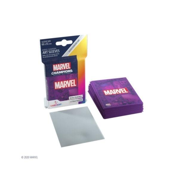 Art Sleeves Marvel Purple