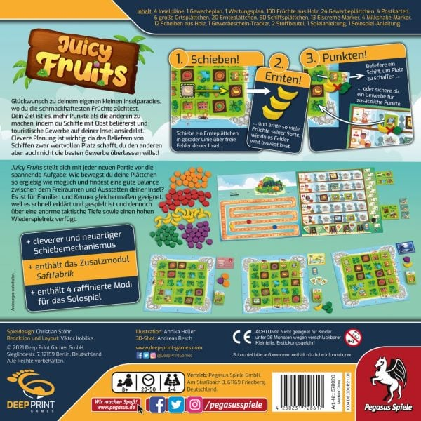 Juicy Fruits (Deep-Print-Games) - bei bigpandav.de direkt bestellen