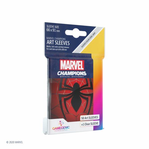 MARVEL-CHAMPIONS-Art-Sleeves---Spider-Man_0 - bigpandav.de