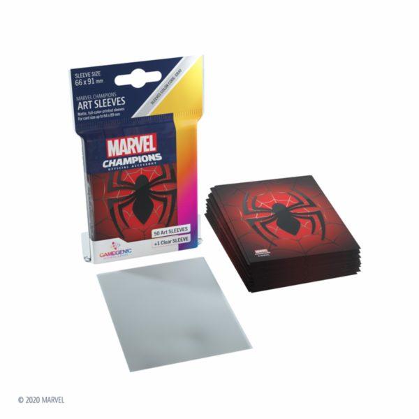 MARVEL-CHAMPIONS-Art-Sleeves---Spider-Man_1 - bigpandav.de
