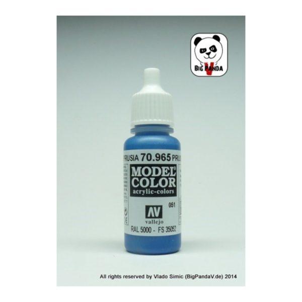 Model-Color--051-(965)---Preussisch-Blau-(Prussian-Blue)_0 - bigpandav.de