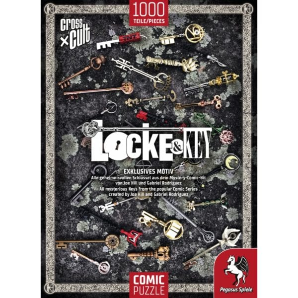 Puzzle--Locke-&-Key-(Die-SchlUessel-zum-KOenigreich),-1.000-Teile_2 - bigpandav.de