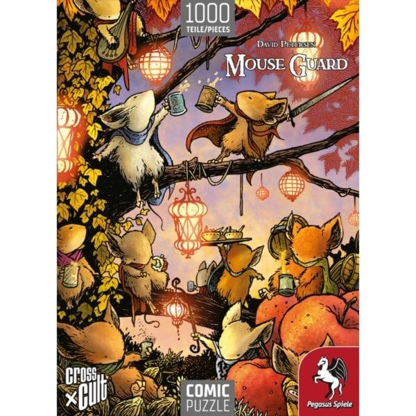 Puzzle--Mouse-Guard-(Das-Fest),-1.000-Teile_2 - bigpandav.de