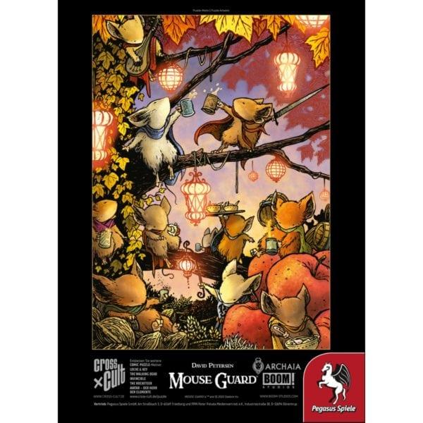 Puzzle--Mouse-Guard-(Das-Fest),-1.000-Teile_3 - bigpandav.de