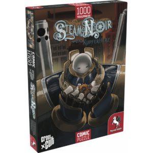 Puzzle--Steam-Noir-(Das-Kupferherz),-1.000-Teile_0 - bigpandav.de