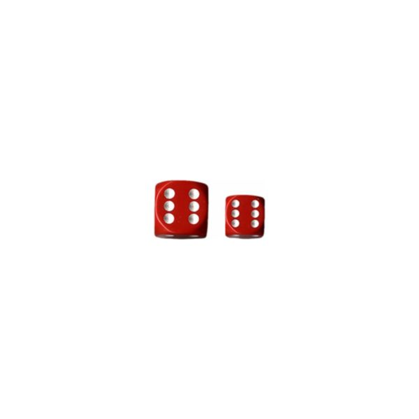 Red-white-Opaque-12mm-d6-with-pips-Dice-Blocks™-(36-Dice)_0 - bigpandav.de