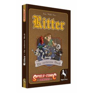 Spiele-Comic-Abenteuer--Ritter---Die-verlorene-Stadt-(Hardcover)_0 - bigpandav.de