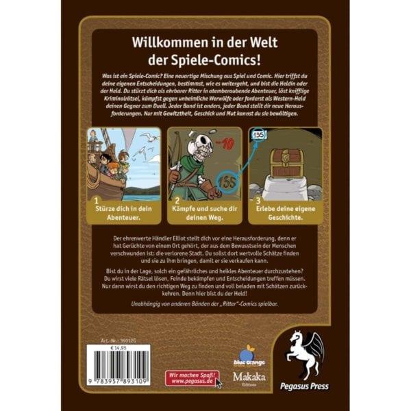 Spiele-Comic-Abenteuer--Ritter---Die-verlorene-Stadt-(Hardcover)_2 - bigpandav.de