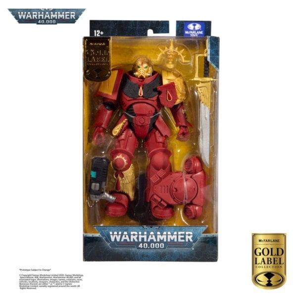 Warhammer 40k Actionfigur Blood Angels Primaris Lieutenant (Gold Label Series) 18 cm online beim Panda kaufen!