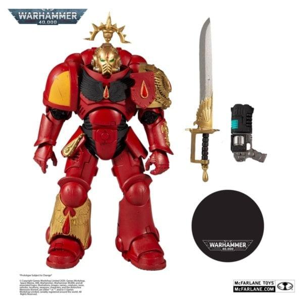 Warhammer 40k Actionfigur Blood Angels Primaris Lieutenant (Gold Label Series) 18 cm bei bigpandav.de bestellen