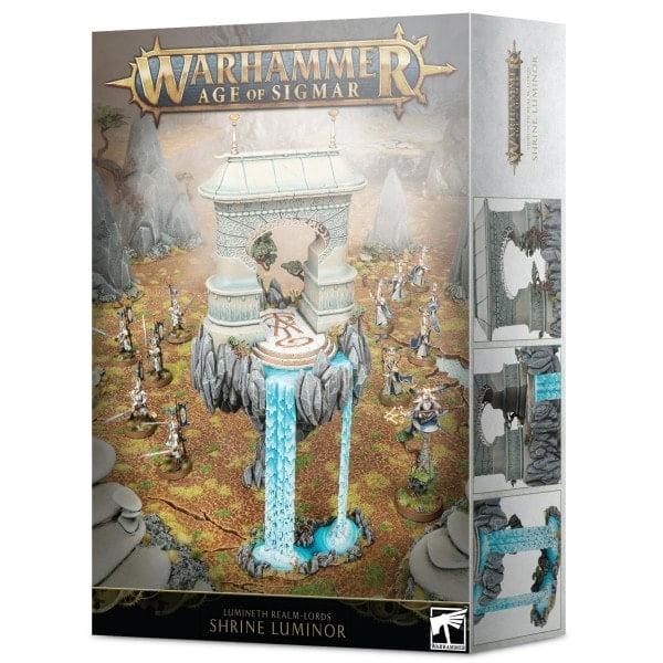 Warhammer Age of Sigmar Shrine Luminor - online einkaufen - bigpandav.de