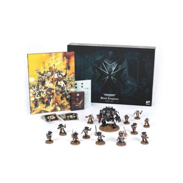 Warhammer 40.000: Armeeset der Black Templars (Deutsch) sofort kaufen bei bigpandav.de