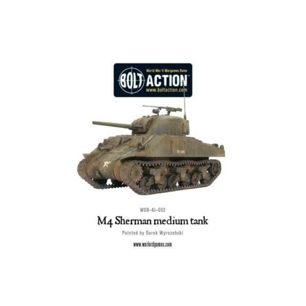 Bolt Action M4 Sherman Tank bigpandav.de