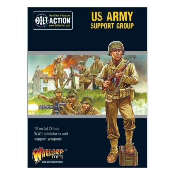 Bolt Action US Army Support Group bigpandav.de