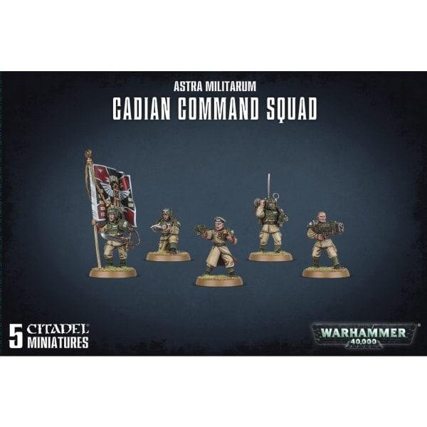 Cadian Command Squad direkt bei bigpandav.de kaufen