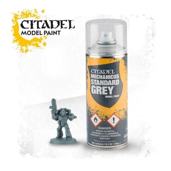 Mechanicus Standard Grey Spray - bigpandav.de Grundierung