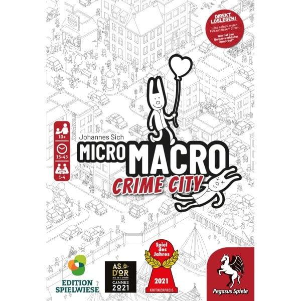 MicroMacro: Crime City *Spiel des Jahres 2021* online bei bigpandav.de bestellen