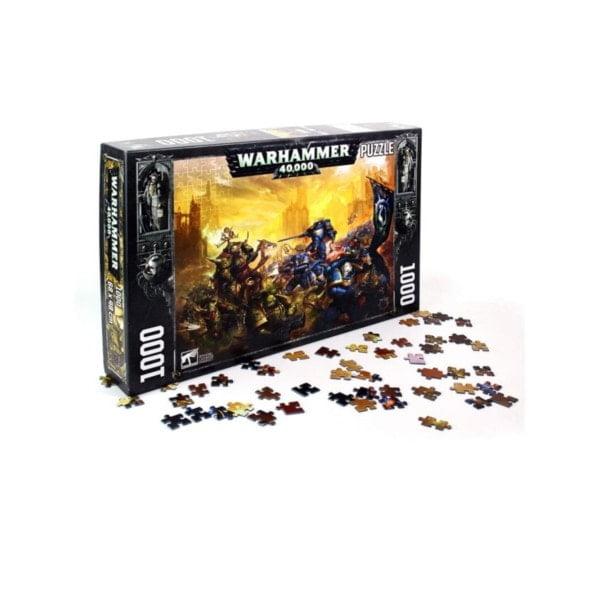 Dark Imperium Warhammer 40K Puzzle 1000 Teile bigpandav.de
