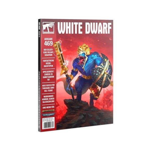 White Dwarf 469 (Deutsch) eifach bei bigpandav.de bestellen